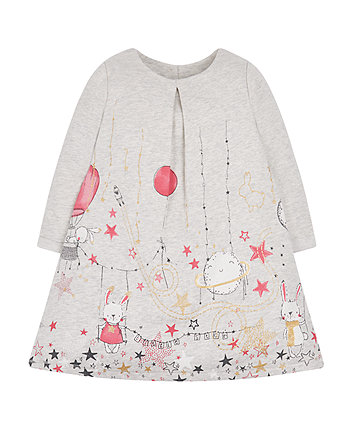 Bunny And Stars Jersey Dress