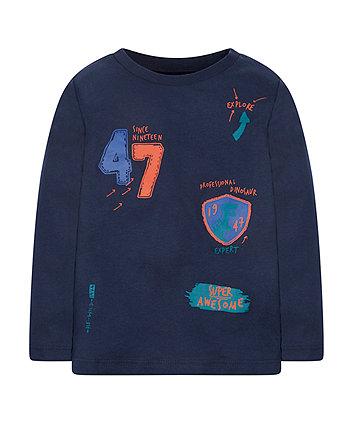 Navy Dinosaur Expert T-Shirt