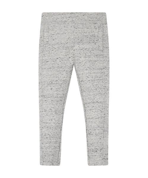 Grey Cotton Leggings