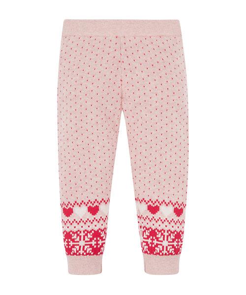Pink Patterned Leggings