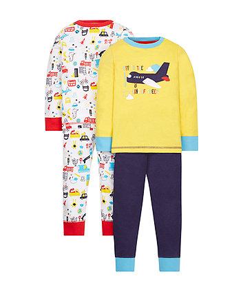 Plane Pyjamas - 2 Pack