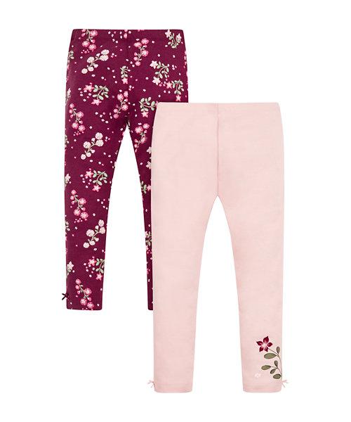 Floral Leggings - 2 Pack