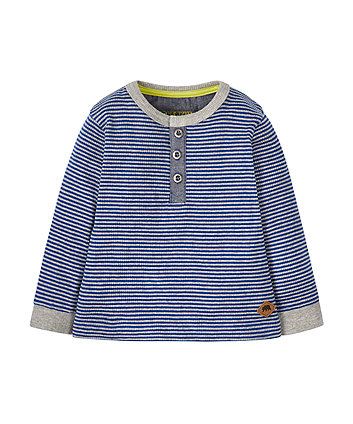 Striped Ribbed T-Shirt