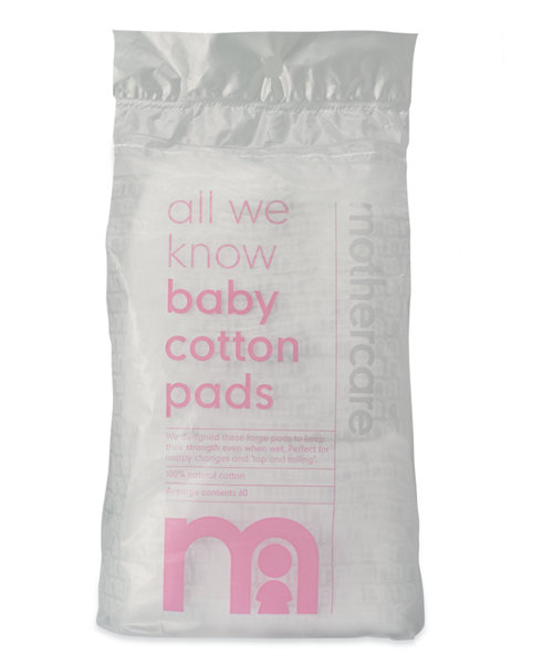 Mothercare Baby Cotton Pads - 60 Pack