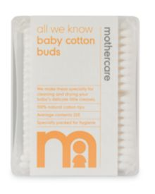 Mothercare All We Know Baby Cotton Buds - 200pk