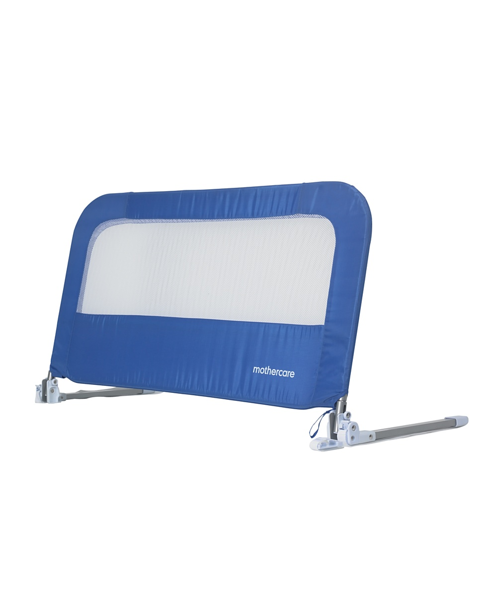 Mothercare soft folding bed guard  Blue
