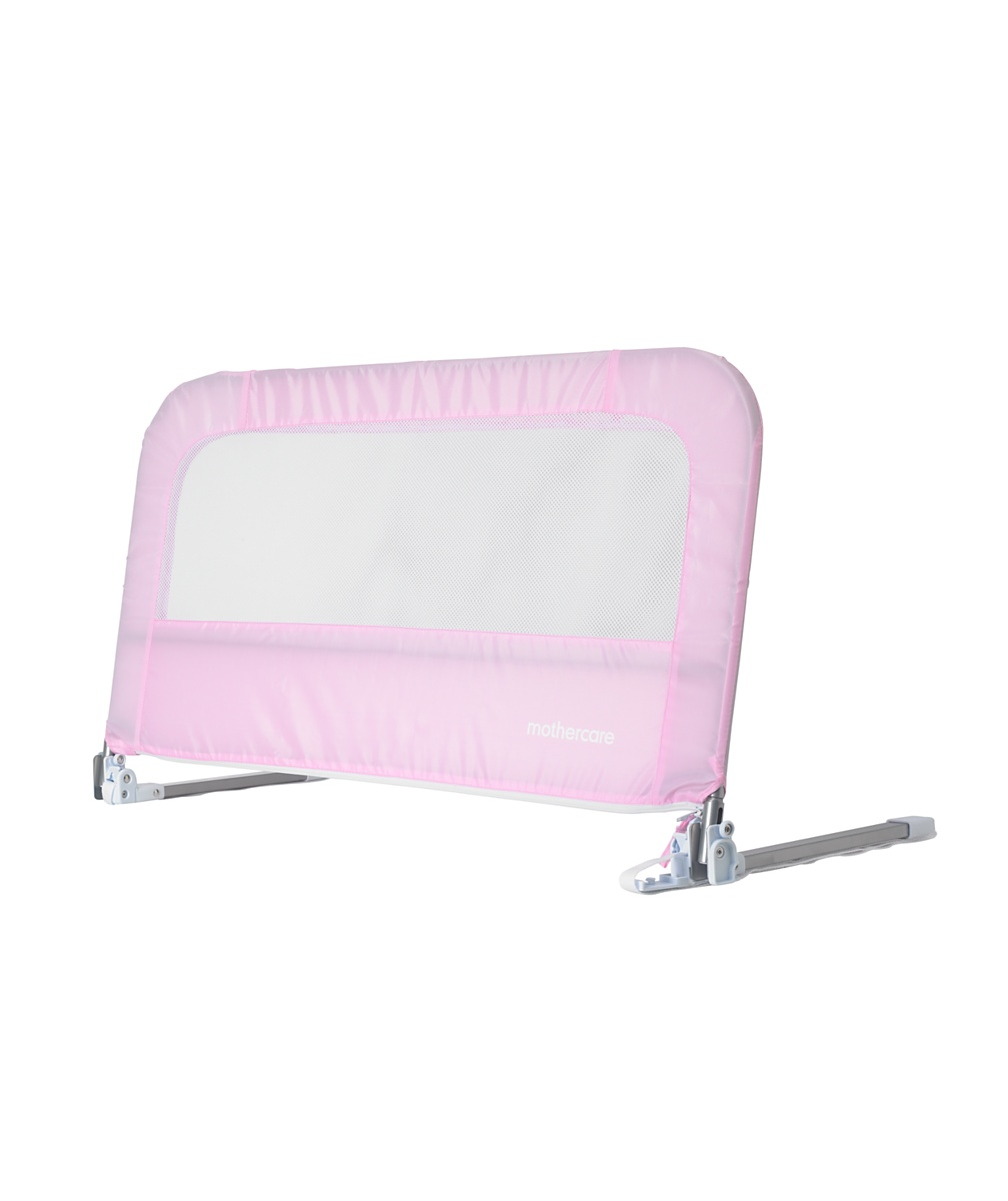 Mothercare soft folding bed guard  Pink