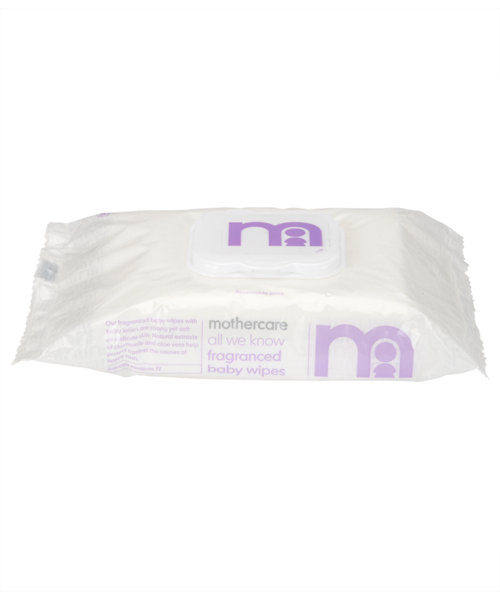 Mothercare All We Know Fragranced Wipes - 4 x 72 Pack