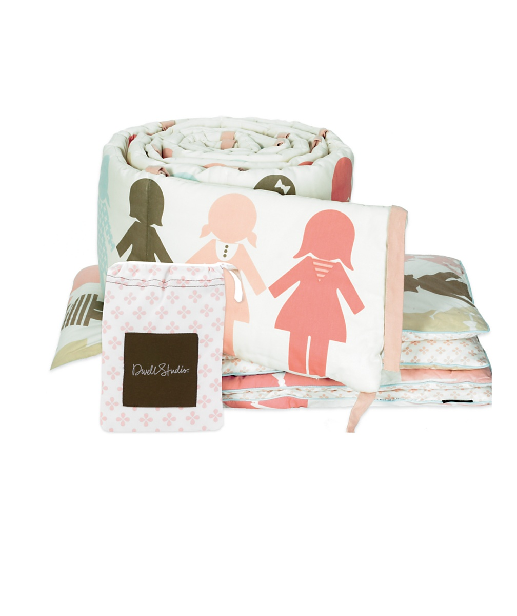 DwellStudio&reg Paper Dolls Quilt  Cot bed