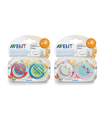 Philips AVENT Fashion Soother 6-18 Month