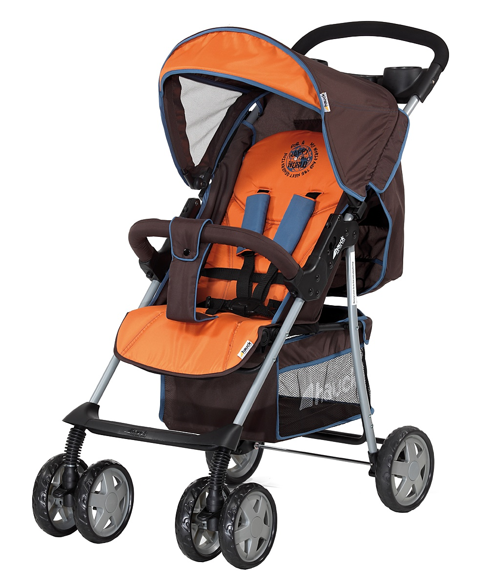 Hauck Shopper 6 Shop n Drive Travel System  Happy Orange