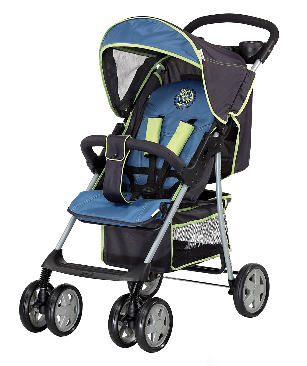 Hauck Shopper 6 Shop n Drive Travel System  Happy Blue