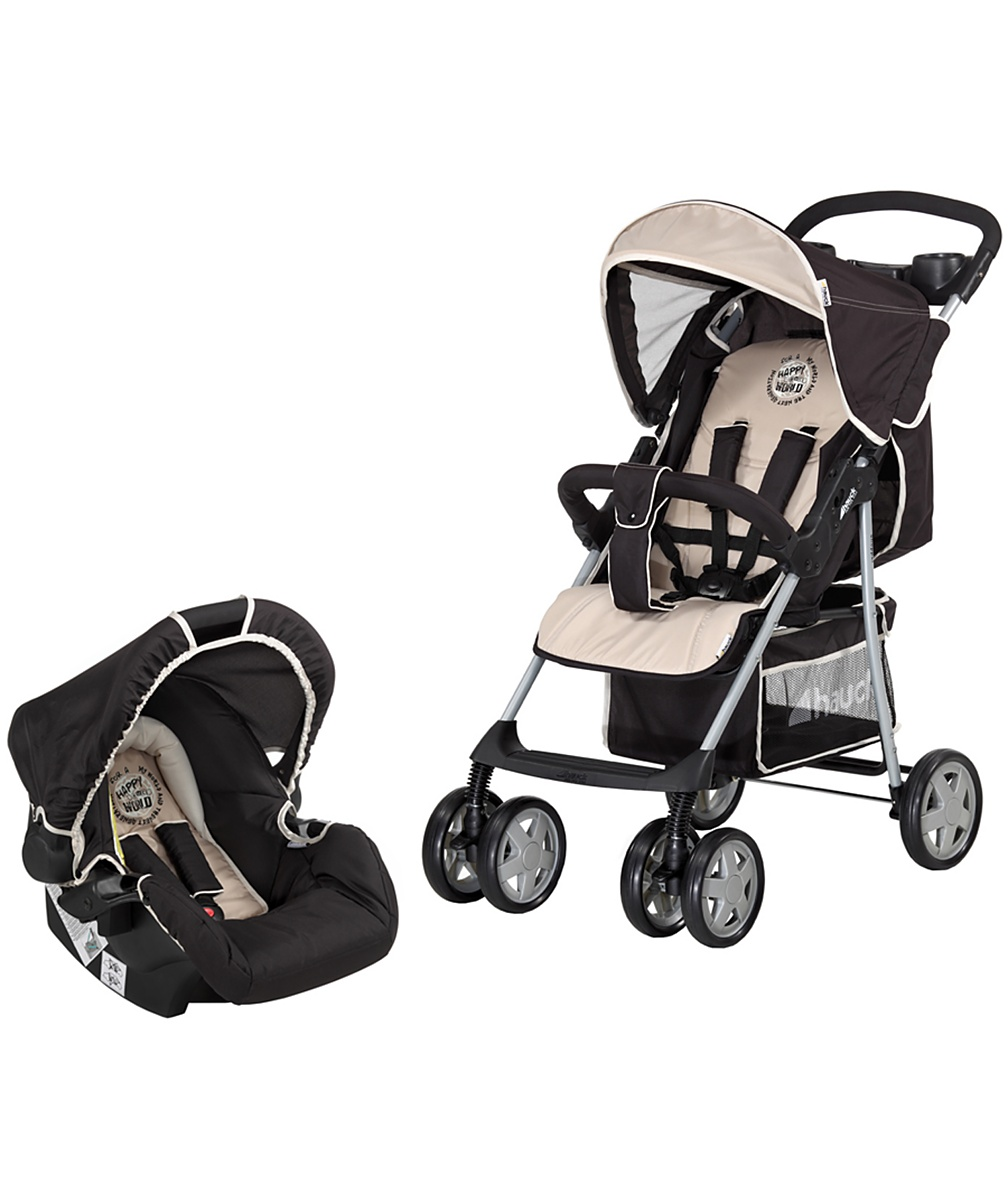 Hauck Shopper 6 Shop n Drive Travel System  Happy Beige