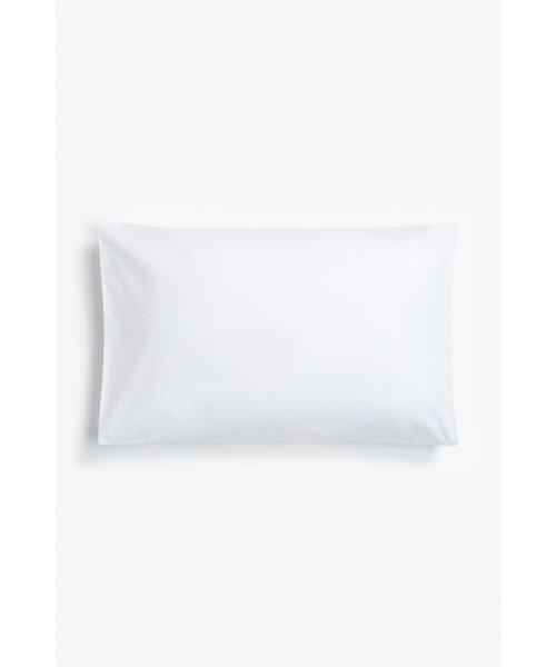 Mothercare Cotton Pillowcase - Cot - White
