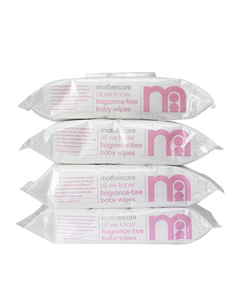 Mothercare All We Know Fragrance-Free Baby Wipes - 72 x 4 Wipes