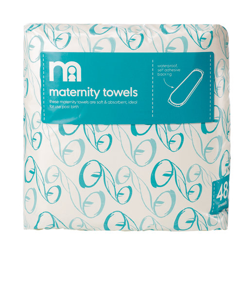 Mothercare Maternity Towels Pads - 48 Pack