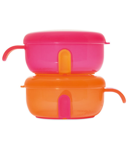 Mothercare Tiny Dining Small Weaning Bowls And Lids - 2 Pack