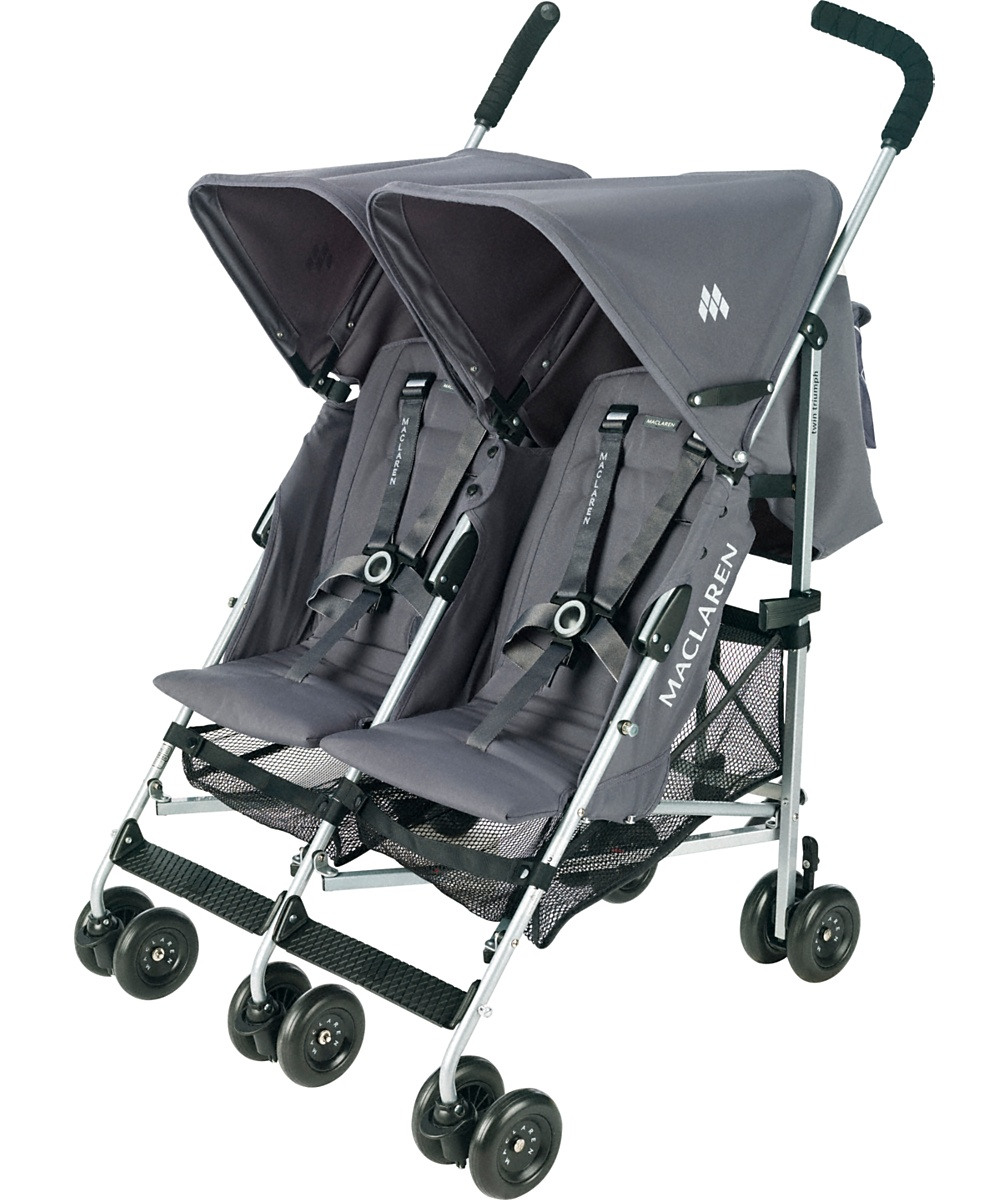 maclaren twin techno stroller manual