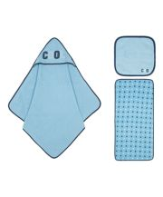 Mothercare Cool Stars Blue Towel Bale - 3 Pack