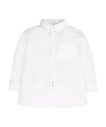Mothercare White Oxford Shirt