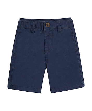 Mothercare Navy Twill Shorts