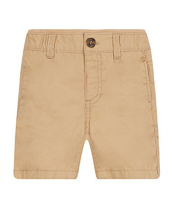 Mothercare Stone Twill Shorts