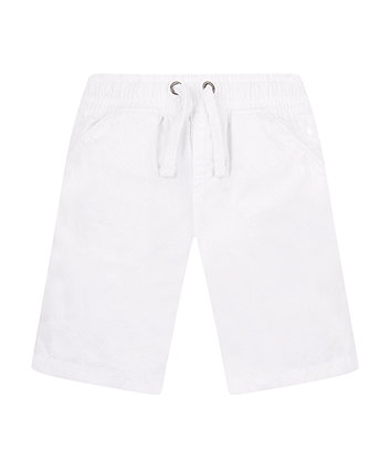 Mothercare White Smart Shorts