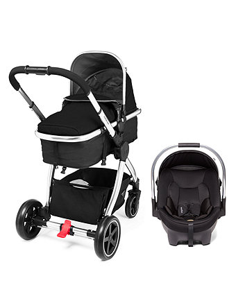 Mothercare Journey Chrome Travel System - Black
