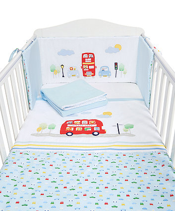 Mothercare On The Road Bed In Bag - Blue