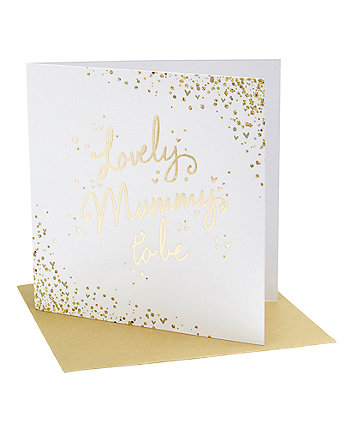 Mothercare Lovely Mum To Be Card