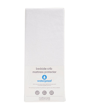 Mothercare Fitted Bedside Crib Mattress Protector