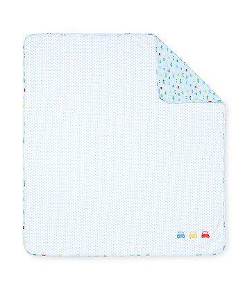 Mothercare On The Road Swaddle Blanket