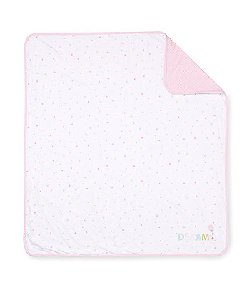 Mothercare Confetti Party Swaddle Blanket
