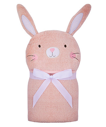Mothercare Bunny Swaddle Wrap - Pink