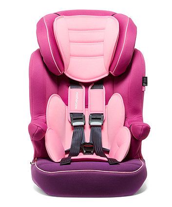 Mothercare Advance XP Highback Booster Car Seat - 3 Tone Pink