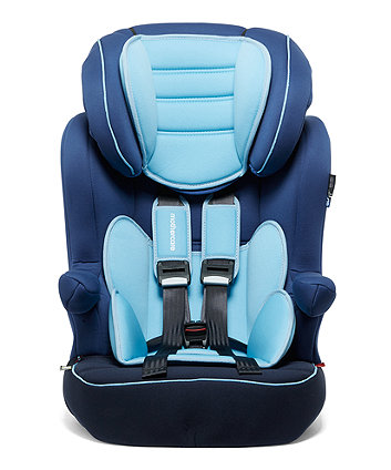 Mothercare Advance Xp Highback Booster Car Seat - 3 Tone Blue