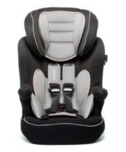 Mothercare Advance Xp Highback Booster Car Seat - 3 Tone Black