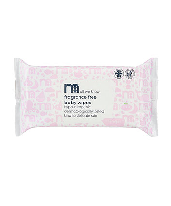 Mothercare Fragrance-Free Wipes - 24 Pack