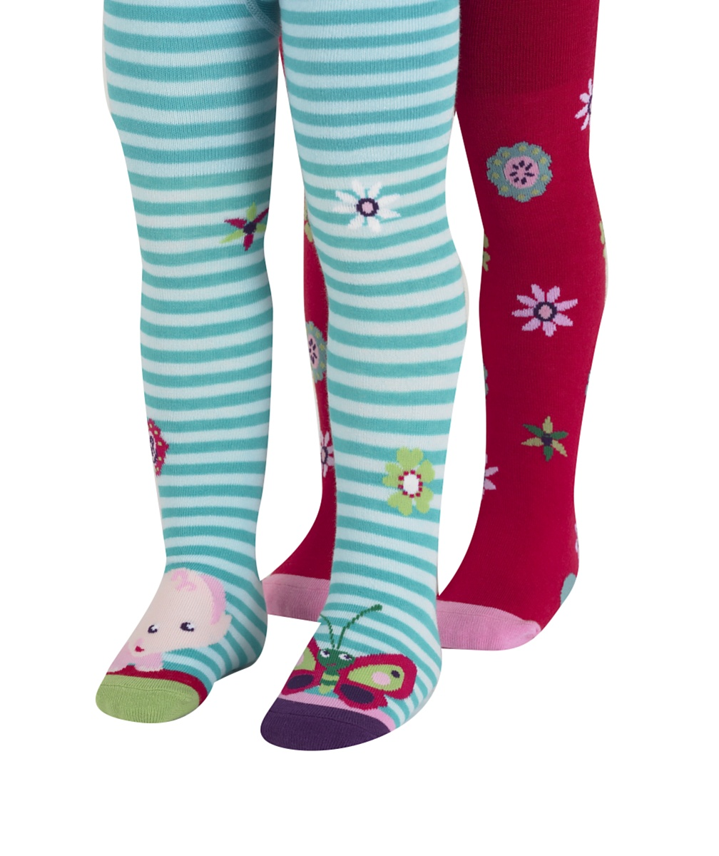 Fisher Price Rainforest Tights 2Pk
