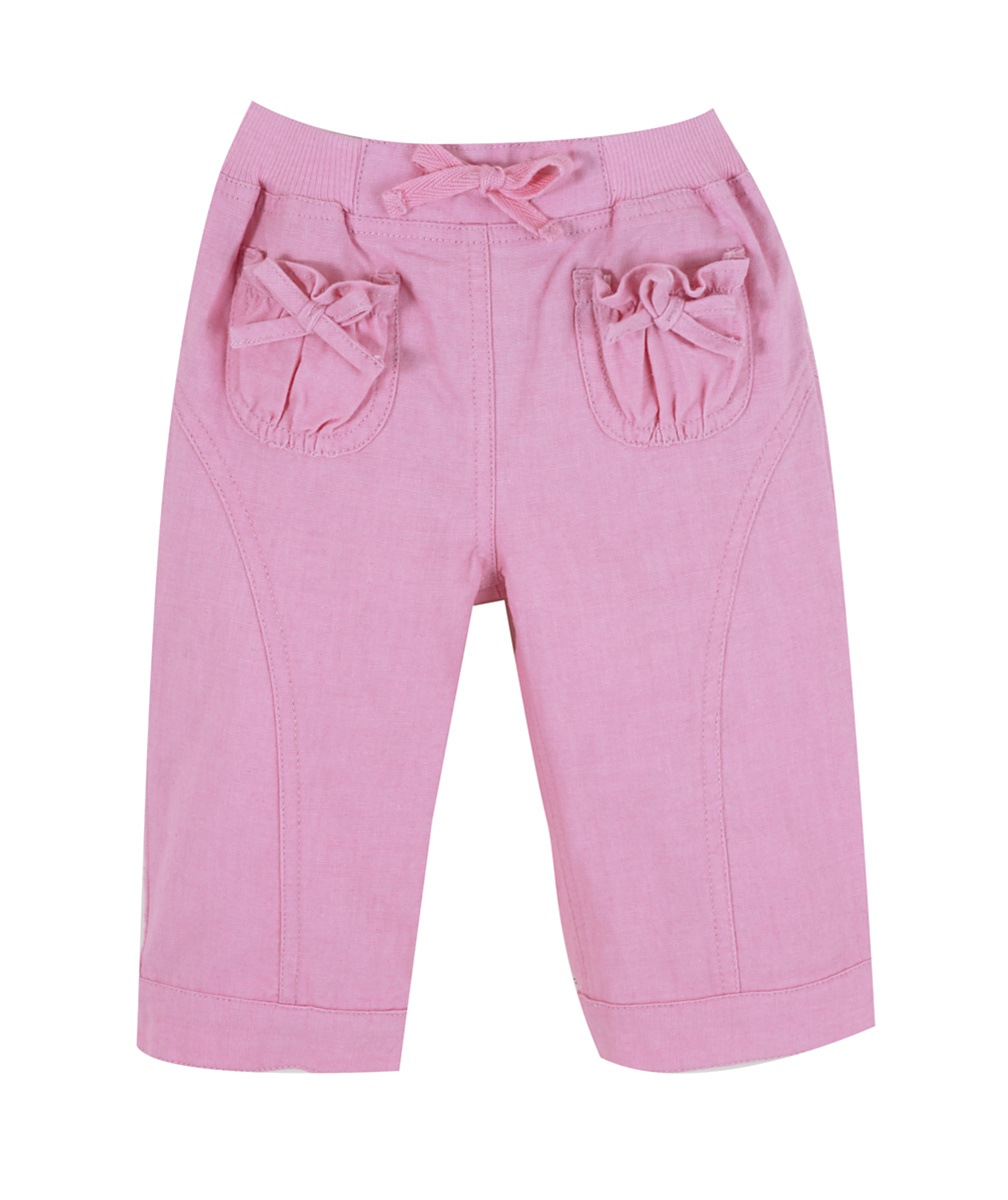 Vintage linen trousers  pink