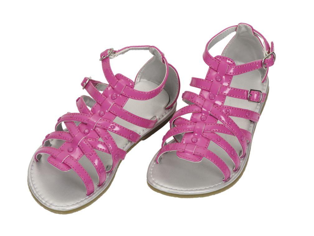 Patent gladiator sandals  Pink