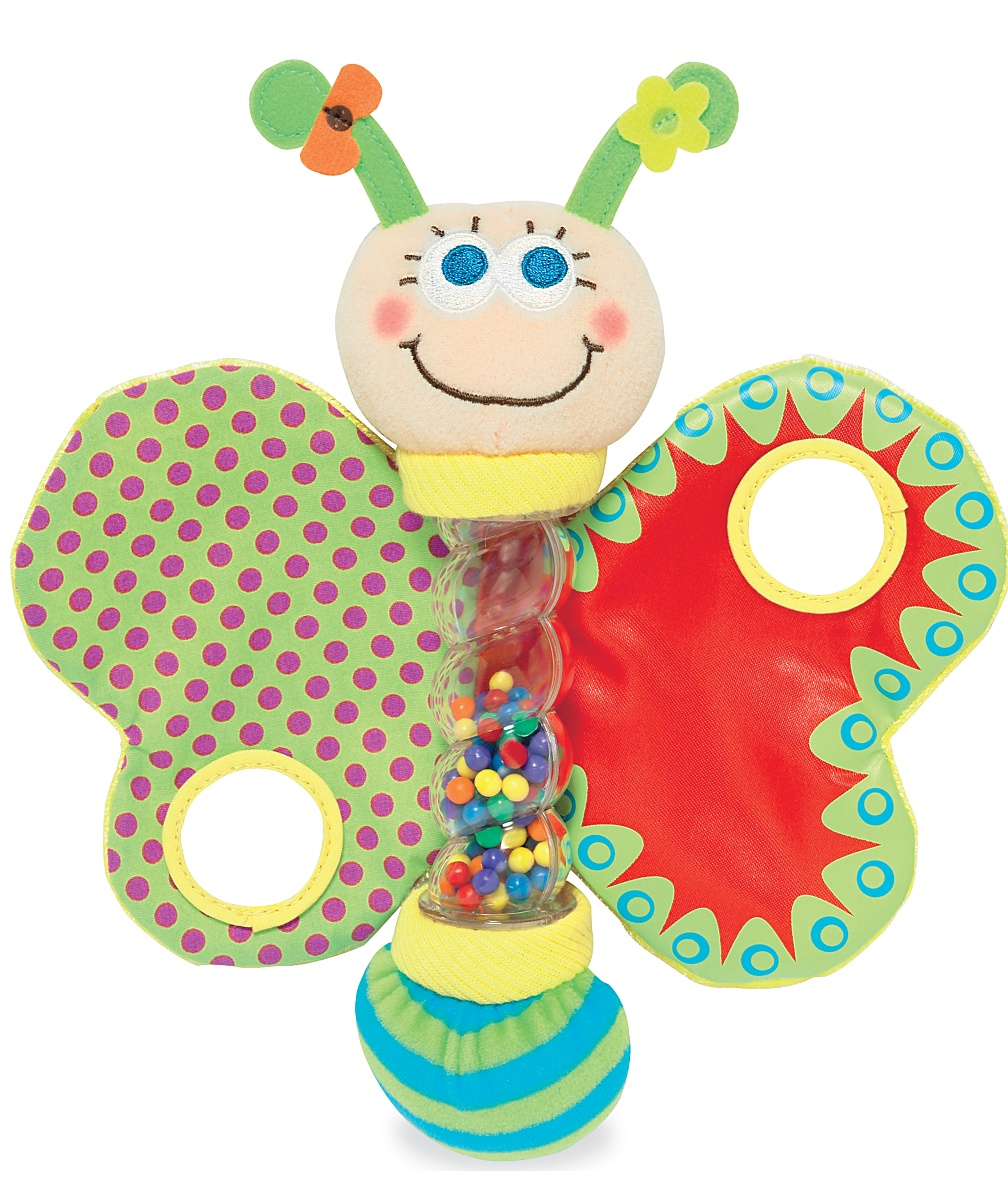 My Back Garden butterfly activity toy