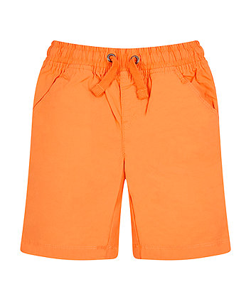 Orange Chino Shorts