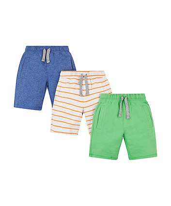 Colourful Jersey Shorts - 2 Pack