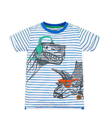 Mothercare Dino Stripe T-Shirt
