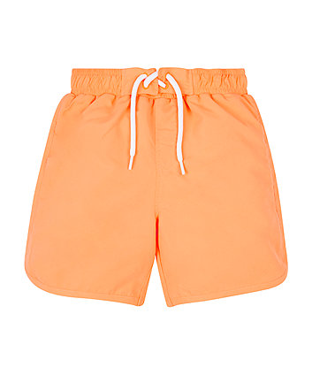 Orange Dinosaur Magic Boardshorts