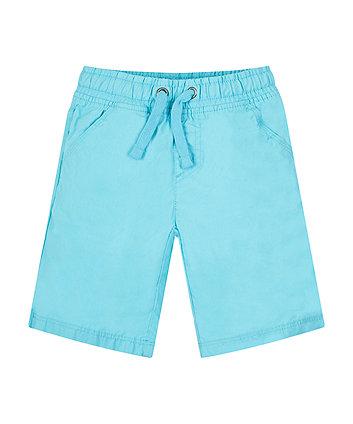 Mothercare Blue Cotton Shorts
