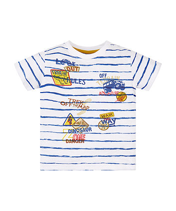 Mothercare Adventure Badge T-Shirt