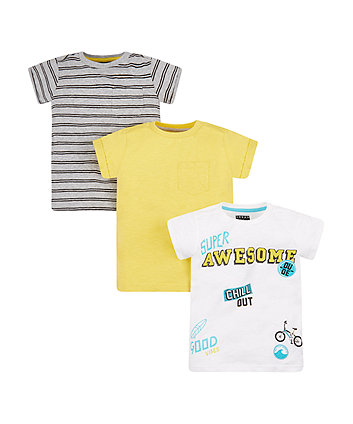 Super Awesome T-Shirts - 3 Pack