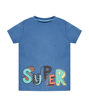 Blue Super T-Shirt